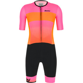 Santini Ferox SS Trisuit Men, atomic orange